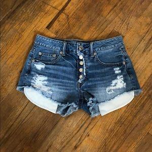 Lightly used AEO Denim shorts